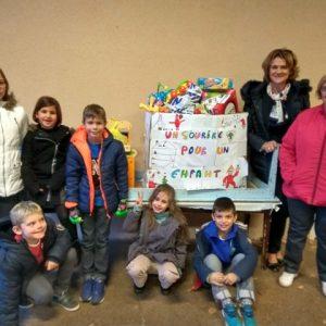 Action de solidarité Noël 2016 – Remise des cadeaux
