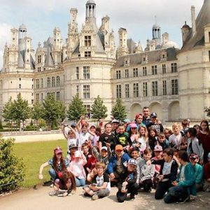 L'école Jeanne d'Arc a vu Chambord (La Dépêche)